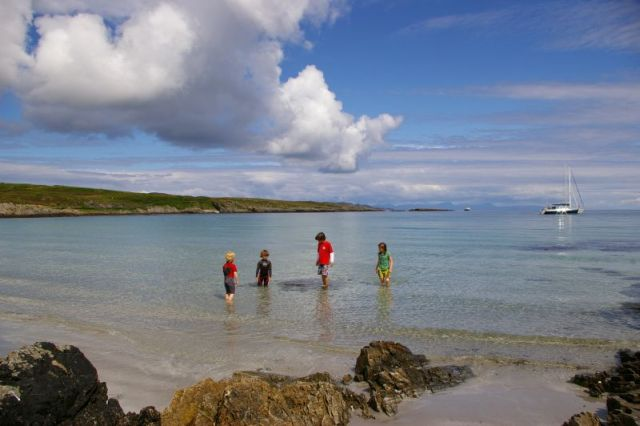 October half term on the Isle of Colonsay