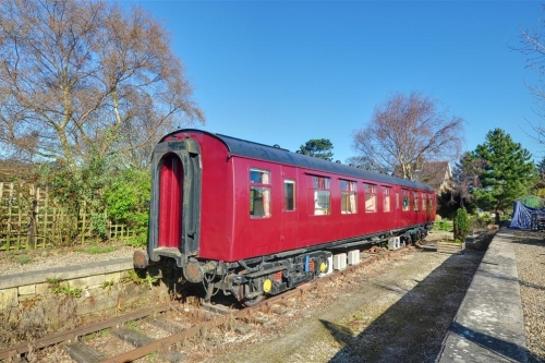 Amazing Spaces - Oscar Railway Carriage - Holiday Cottage in Cloughton, North York Moors