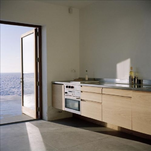 Coastguard Lookout open plan kitchen