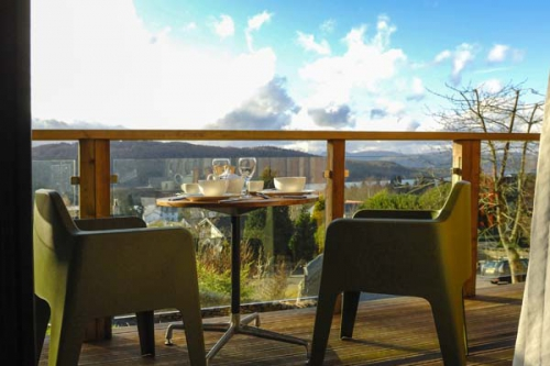 Views out over Lake Windermere from Dome House