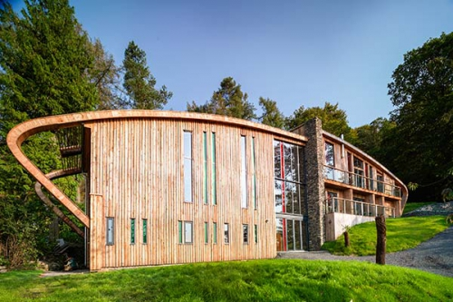 Stay In A Genuine Grand Design Dome House In The Lake District
