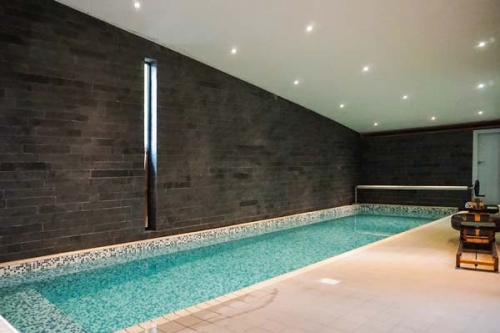 Swimming pool at Dome House