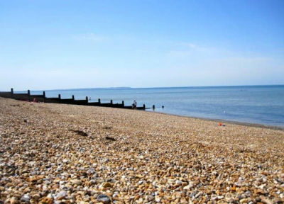 Whitstable beach in Kent