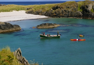 Isle of Colonsay holiday cottages
