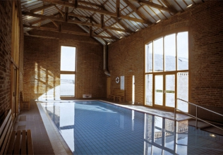 Indoor swimming pool holiday cottages