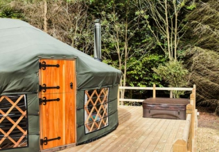 Yurt holiday cottages