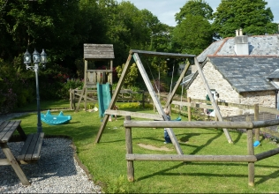 Children's play area holiday cottages