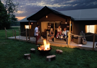 Safari tent holiday cottages
